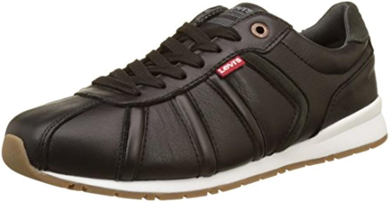 Levi's Herren Almayer Ii 1700 Sneakers  Schwarz (Noir)