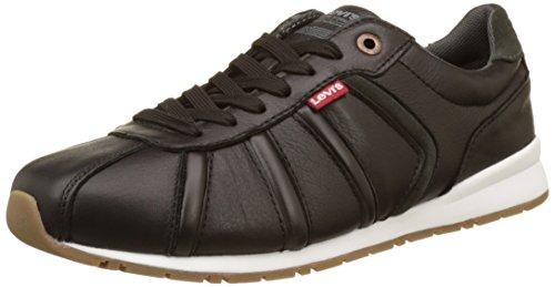 Levi's Herren Almayer II 1700 Sneakers, Schwarz (Noir), 44 EU