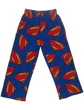 Superman Jungen Herbst / Winter Polar Fleece Nachtwäsche / Pyjama-Hosen