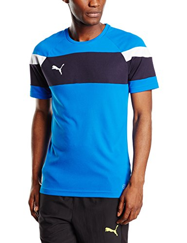 Puma Herren T-shirt Spirit II Training Jersey, royal-white, M, 654655 02