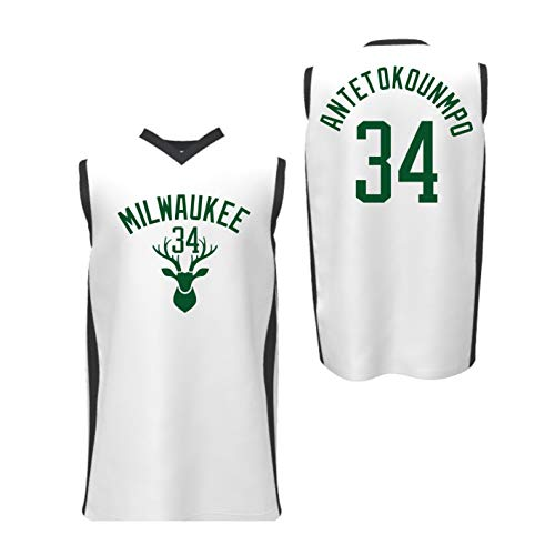 HoB Giannis Antetokounmpo (34) NBA Basketball Jersey - Milwaukee Bucks - 2019/2020 (XL)