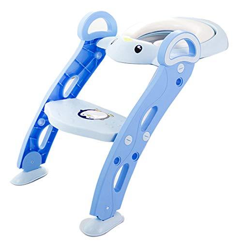 Bright love Bébé Enfants Potty Toilettes Formation siège Bambin Enfants Formateur échelle Pot Chaise,Blue