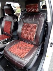 to fit a Saab 93, Car Seat Covers, Sbbsc 03marrone ROSSINI massaggi con perline, 2front