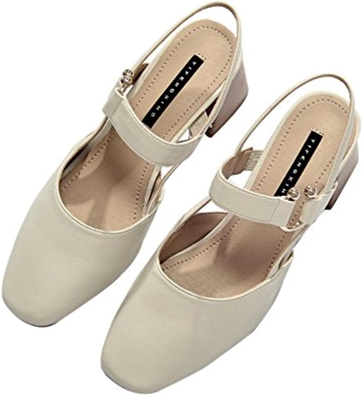 iangl iangl iangl talons de chaussures sandales à talons baotou rude été fées et rome buckles.b07ftpdlv6 parent | Commandes Sont Les Bienvenues  ac7308