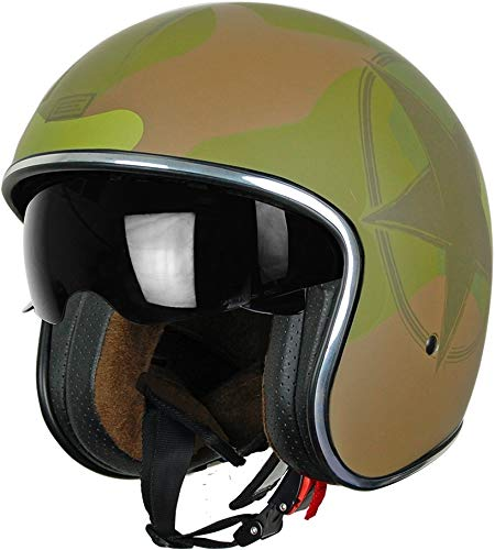 Casco Jet - Custom/Cafè Racer - Origine Sprint Small Army Green