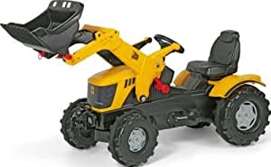Delightful JCB 8250 V-Tronic Child's Tractor with Front Loader --
