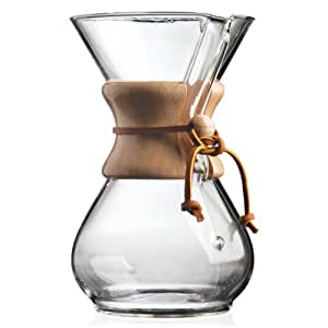 Chemex 6-Cup Wood Neck Coffee Maker