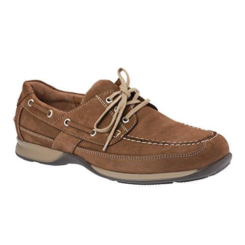 Waldläufer , Chaussures de ville à lacets pour homme Tabak