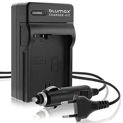 Blumax Ladegerät für EN-EL14 / EN-EL14a |kompatibel mit Nikon DF-D3100-D3200-D3300-D3400-D5200-D5300-D5400-D5500 | Coolpix P7000-P7100-P7700-P7800