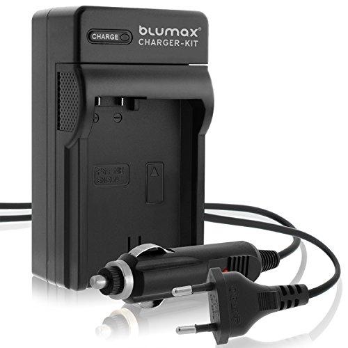 Blumax Ladegerät für Nikon EN-EL14 / EN-EL14a Zubehör fürNikon D3100 D3200 D3300 D3400 D5100 D5200 D5300 D5500 D7200 und viele mehr (Akku-ladegerät Für Nikon D3100)