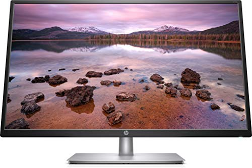 HP 32s Display Full HD (1920 x 1080) 31.5 Inch Monitor (5 ms, 1 VGA, 1 HDMI) - Silver/Black