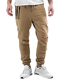 Sixth June Herren Hosen / Jogginghose Destroyed Slim Fit