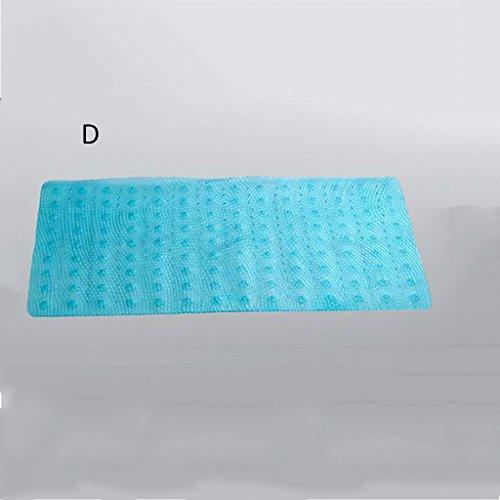 LYJ Tapis de bain Tasteless anti-dérapant tapis de bain tapis de bain de bain de pédale de tapis de bain tapis de bain tapis de bain salle de bain entrée cuisine toilettes Séchage rapide ( Couleur : D )