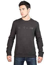 Calvin Klein Jeans - Hudson J3EJ300663 - Sweat-shirt - Uni - Col ras du cou - Manches longues - Homme