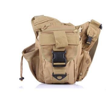 Zll/2015neue Kameratasche army Fan Tactical Sattel Tasche Geldbörse Freizeit Outdoor Single Schulter der Staubbeutel Khaki