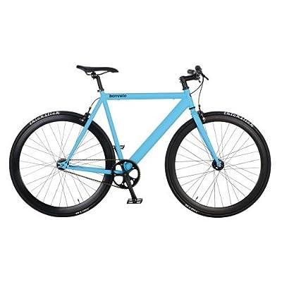 bonvelo Singlespeed Fixie Fahrrad Blizz Into The Blue (Small / 50cm für Körpergrößen von 151cm bis 161cm)