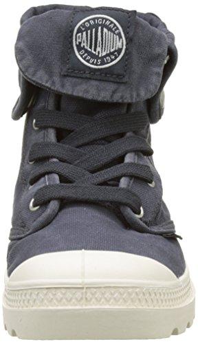 Palladium Baggy, Hohe Sneakers Femme, Beige Bleu (Anthracite/marshmallow)