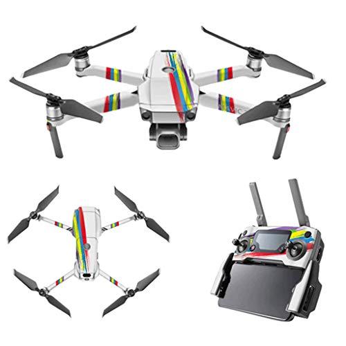 Skryo Skin Wasserdichte Schutzfolie Urban Camo Drone Decals für DJI Mavic 2 PRO / Zoom (AA) Camo-video-kameras