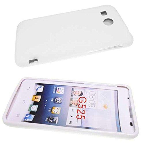 caseroxx TPU-Hülle für Huawei Ascend G525, Tasche (TPU-Hülle in weiß)