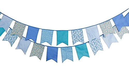 m Stoff Flagge Wimpelkette Banner DIY Hochzeit Party Dekoration, multicolore 3, 31*32CM (Stoff-banner Diy)