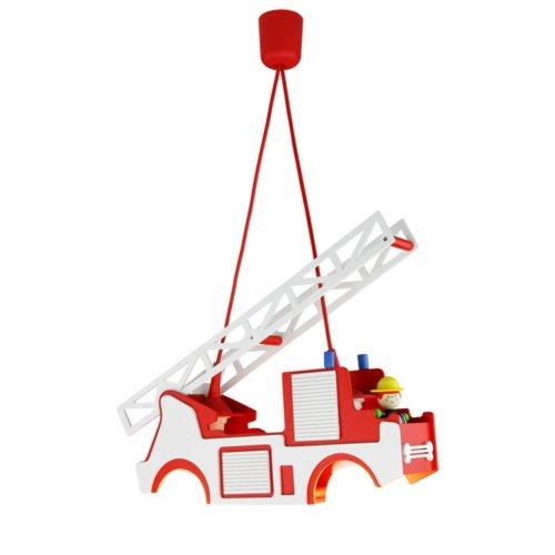 feuerwehrlampe Elobra Pendelleuchte Feuerwehr mit 'Fred' 125694