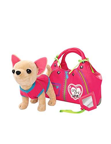 Chi Chi Love Peluche con bolso, color rosa / verde (Simba 5890617)