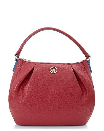Armani Jeans9221446A706 - Borse a Tracolla Donna , Rosso (Rot (ROSSO MATT/TWILT BLU 06676)), 27x2x36 cm (B x H x T)