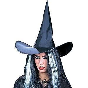 WIDMANN Sombrero bruja Womens, Negro, talla única, vd-wdm5150W