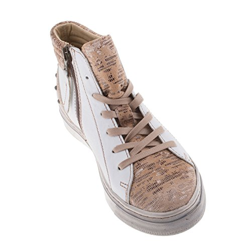 Mjus, Sneaker donna blank MIELE-BIANCO