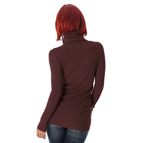 Luxestar - Pull - Pull - Femme Taille Unique Marron
