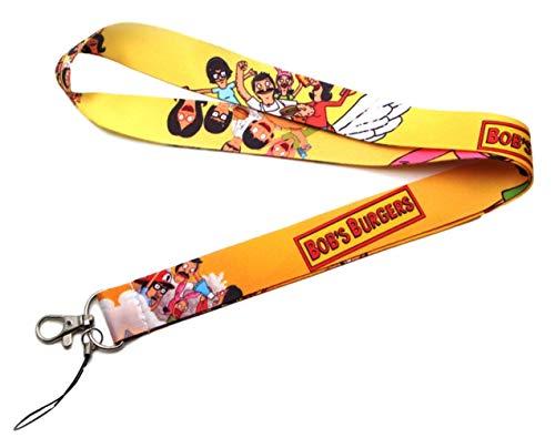 Schlüsselanhänger mit Bob's Burger-Logo und Charakteren (Bob Bob's Burger Kostüm)
