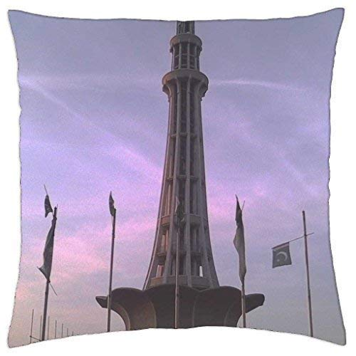 Wfispiy Minar-e-Pakistan - Throw Pillow Cover Case (18