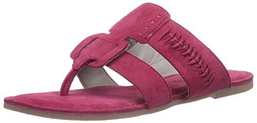 Marc Shoes 1.667.06-22/604-nera, Chaussures de Claquettes femme Rouge - Rot (fuchsia 604)