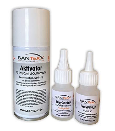 Set Aktivator (Flüssige Schweißnaht Profi-Set von SANTeXX Preis pro 100g: 9,47€)