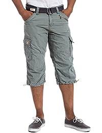 Timezone MilesTZcargo 3/4 pants incl.belt - Short - Homme