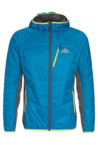 VITTORIO ROSSI Ultraleichte Herren Hybrid-Jacke wasserabweisend Leichte Jacke für Männer blau,3XL (Leichte Hybrid-jacke Herren)