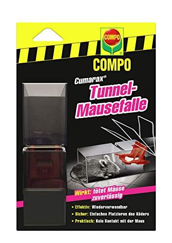 COMPO Cumarax Tunnel-Mausefalle, Wiederverwendbar
