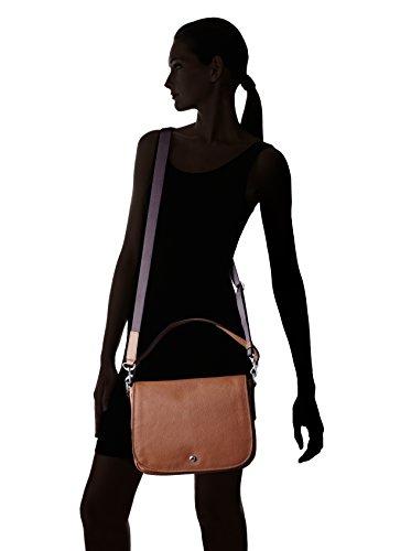 Bree Sofia 9 Sac à main - porté épaule cuir 30 cm conker