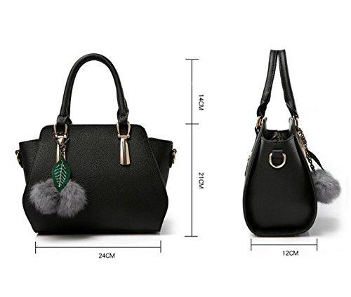 Damen Handtasche Schulter Schräge Kreuz Paket Freizeit Handtaschen Einfache Wilde Mode Grey