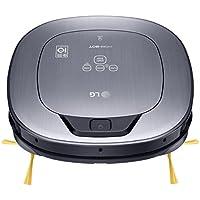 LG VR65710LVMP Hombot Turbo Serie 10 - robot aspirador programable con doble cámara, para casas