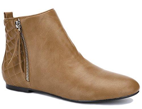 MaxMuxun Women Shoes Zip Up Botines Classic Winter segunda mano  Se entrega en toda España