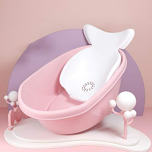Grande Vasca Imbottita Forniture per Bambini Possono Sedersi nella Vasca Vasca da Bagno Vasca da Bagno (Color : Pink)