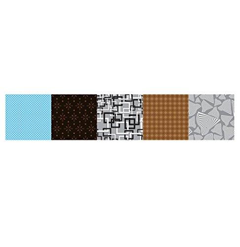 HARRYSTORE Farbe Matchingpattern Wand Aufkleber DIY Fliesen Aufkleber Home Decor Anbietern