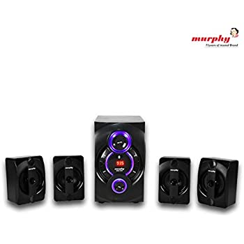 murphy 4400 4.1 Channel Digital Bluetooth Home Theater & Home Cinema Multimedia Speaker System (Bluetooth,FM,MP3 AUX)