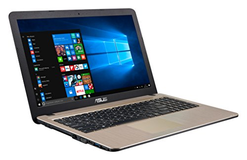 "ASUS K540LA-XX659T - Ordenador Portátil de 15.6"" HD (Intel Core i3-5005U, 4 GB RAM, 1 TB HDD, Intel HD Graphics, Windows 10 Home) Negro Chocolate - Teclado QWERTY Español"