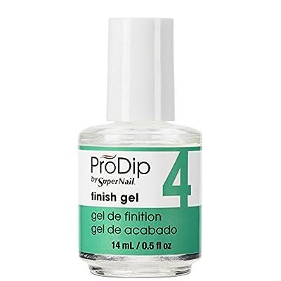 SuperNail ProDip Nail Polish Treatment - Finish Gel 14ml