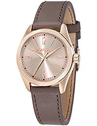 Morellato - R0151132503 - Montre Femme - Quartz - Analogique - Bracelet cuir Marron