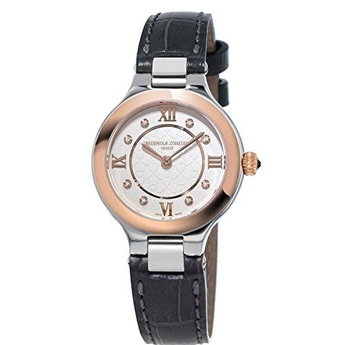 frederique-constant-femme-bracelet-cuir-boitier-ton-or-en-acier-inoxydable-quartz-montre-fc-200whd1e