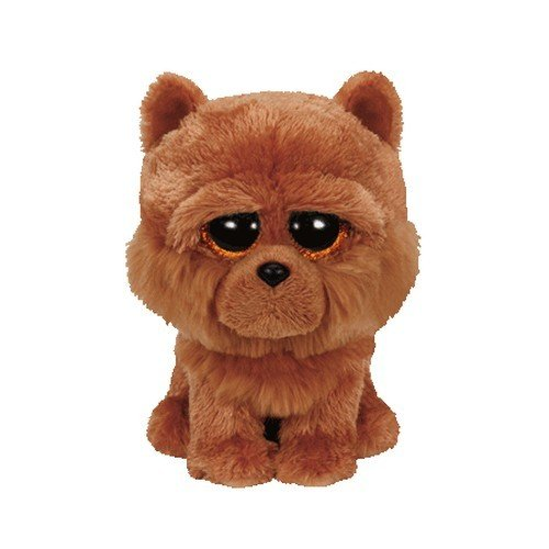 Beanie Boo Dog - Barley - Brown - 15cm 6""