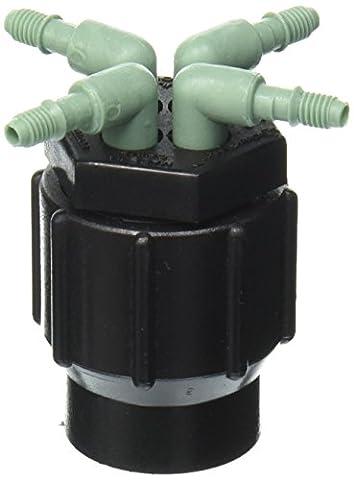 Orbit DripMaster 69025 4-Port Manifold, Full Flow